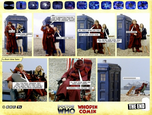 doctor who titan comics five doctors comic strip 3.23