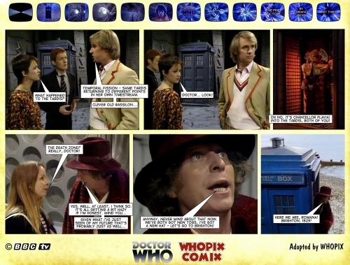 doctor who titan comics five doctors comic strip 3.22