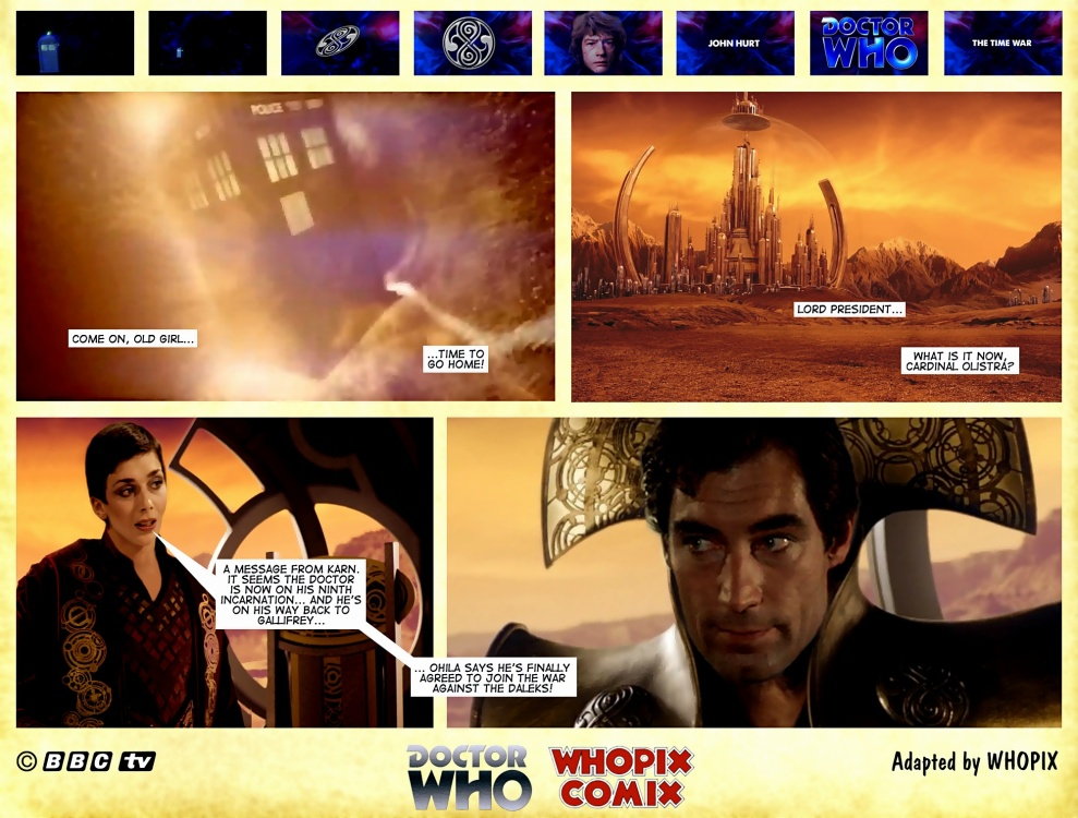 time war telecomic 1.4