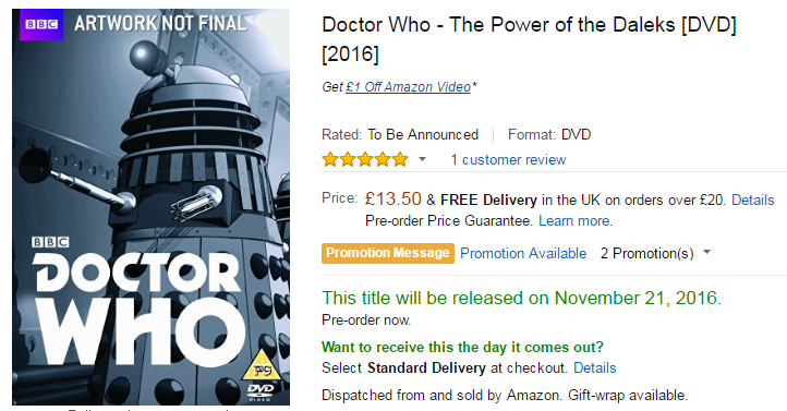 power-of-the-daleks-dvd